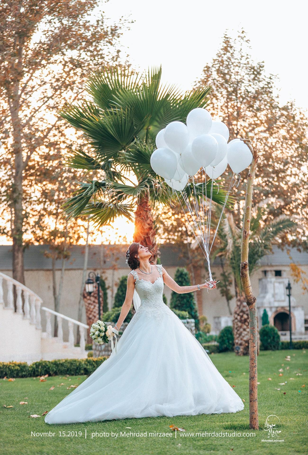 عکاسی عروس در کرج مهرداد میرزائی