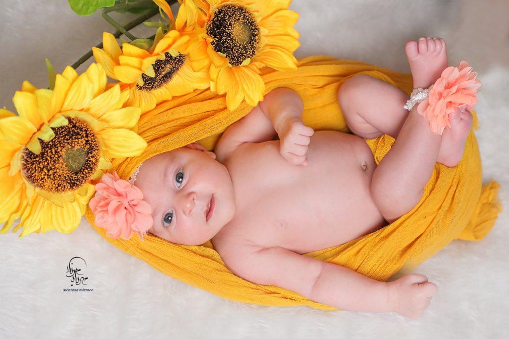عکاسی نوزاد در کرج،آتلیه مهرداد