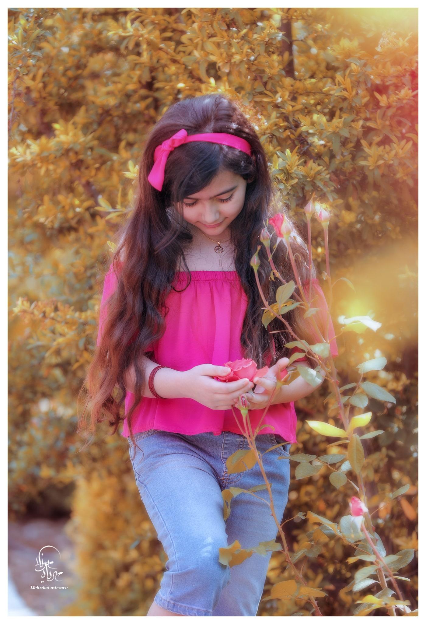 عکاسی کودک با ژست طبیعی