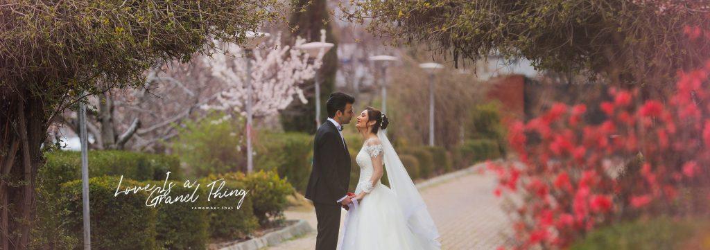 عکاسی عروس مهردادمیرزایی در کرج